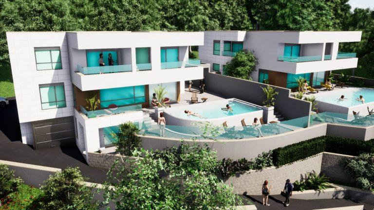 luxury villa baška voda heros plus