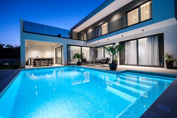 luxury villa Croatia heros plus